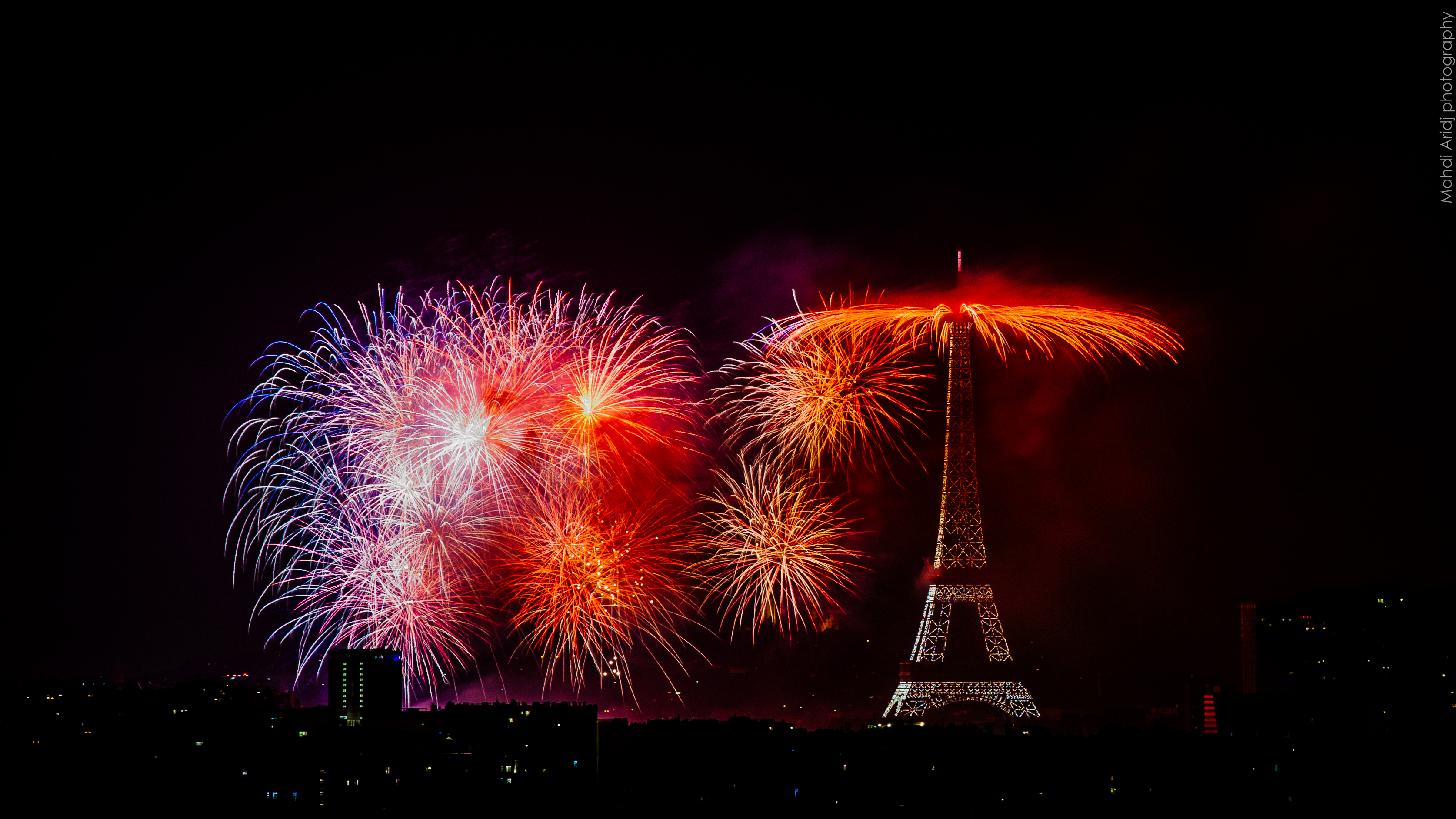Feu d'artifice du 14 Juillet 2018 | Paris 2