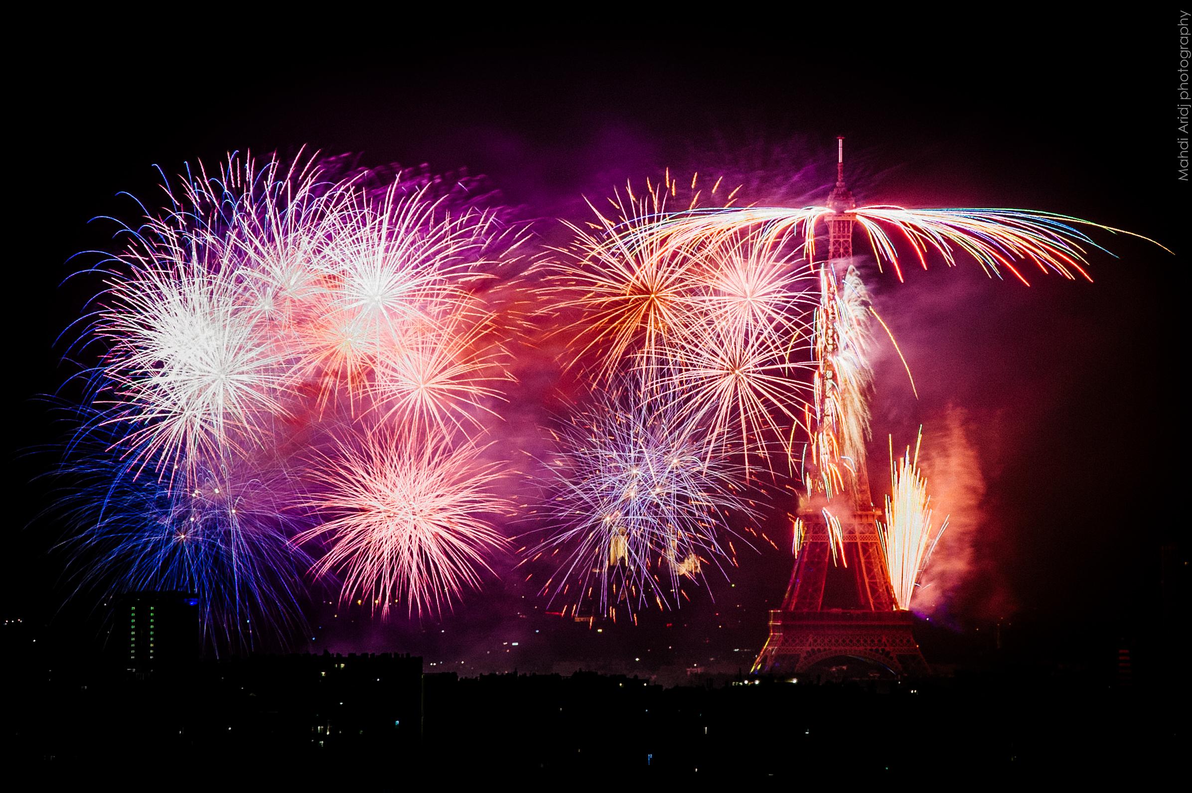 Feu d'artifice du 14 Juillet 2018 | Paris 3