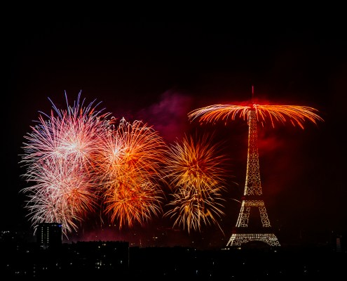 Feu d'artifice du 14 Juillet 2018 | Paris 5