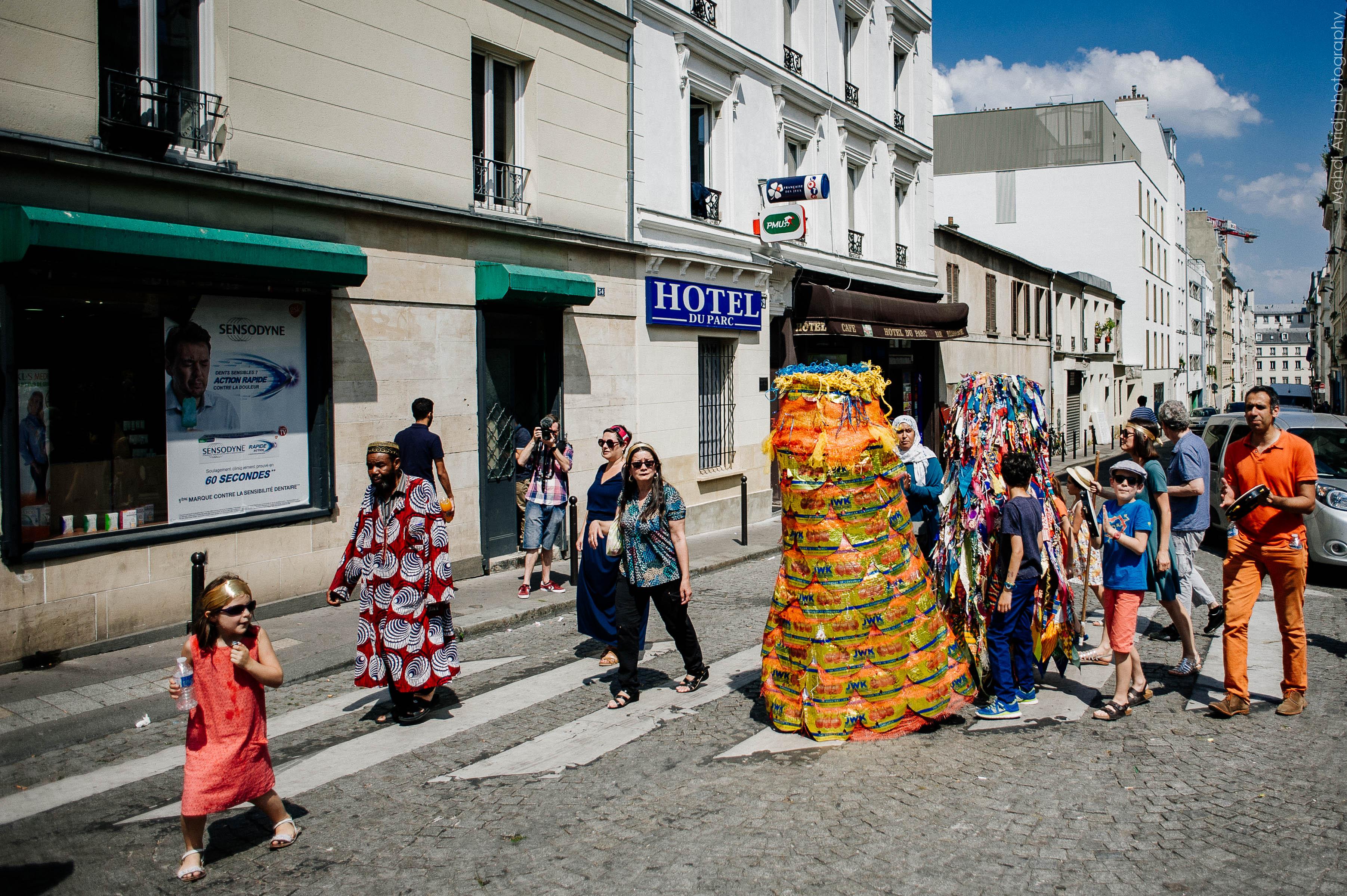 Antre - Séverine Bourguignon - La goutte d'Or en fête | Antre by Séverine Bourguignon