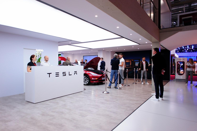Tesla - Model 3 - Paris motor Show 2018 - Mondial de l'auto