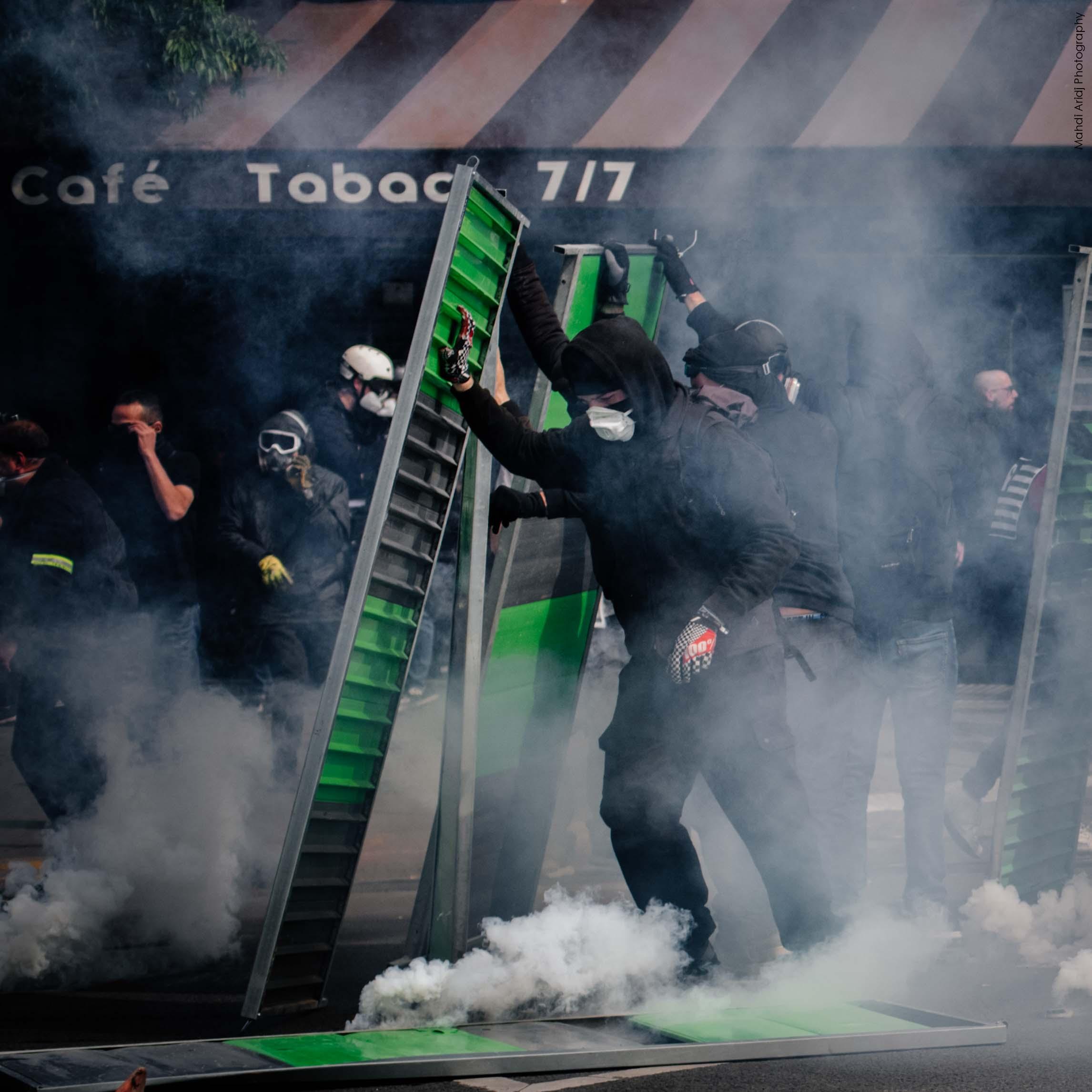Les photos de la manifestation du 1er Mai 2019 à Paris - Pictures of the Paris May Day protests 2019
