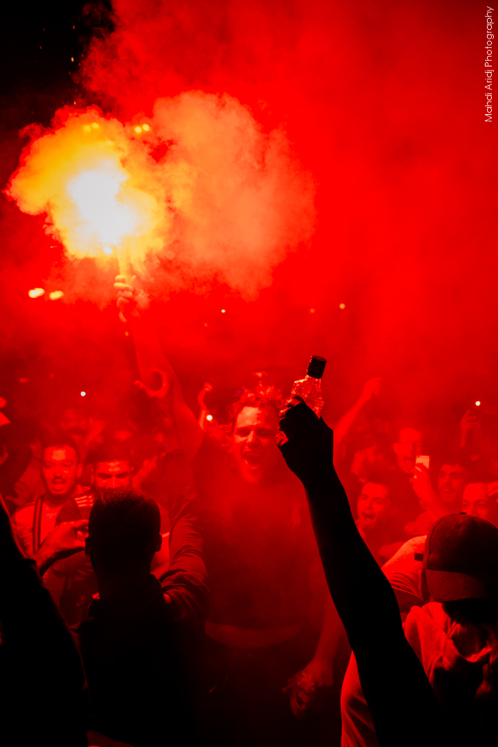 Verts de joie pour les Fennecs - An uncommon Bastille Day with Algerian football fans