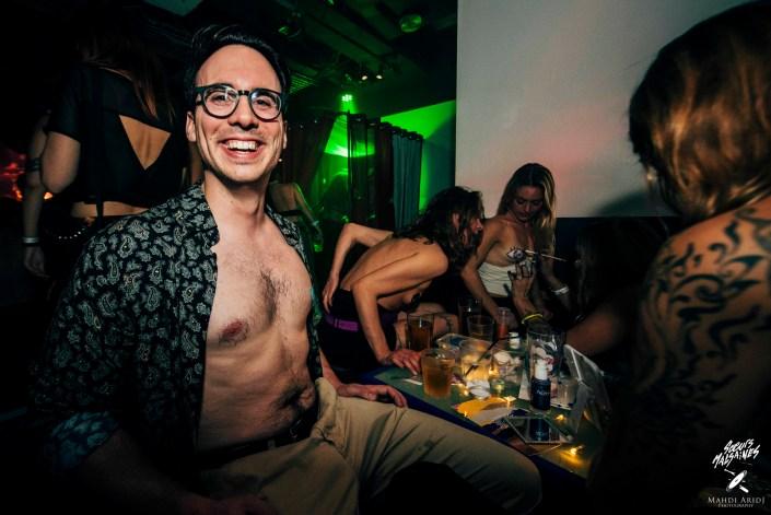 Club tétons au Rex club - Soeurs Malsaines & Increase The Groove