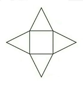 Limas segiempat | pengertian rumus volume serta luas permukaan