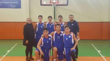 Genç Basketbol Takımımız İlçedeki İlk Maçını Galibiyetle Sonuçlandırdı