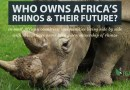 International Rhino Horn Trade Ban Failing