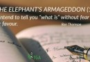 The Elephant's Armageddon (1)