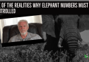 One of the Realities Why Elephant Numbers Must be Controlled