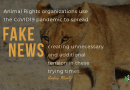 André Mentz Radio Interview: Warning not to Believe Fake COVID19 Wildlife News