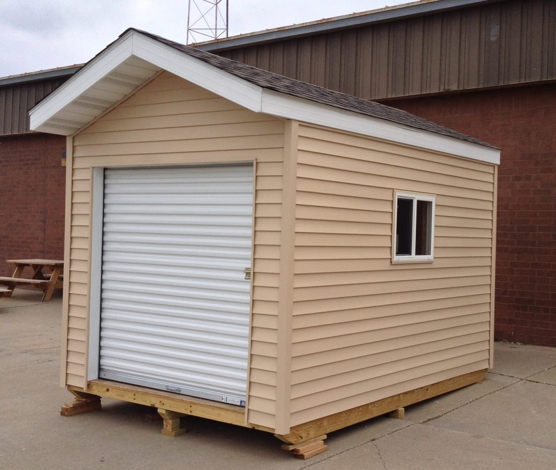 Mahomet-Seymour Construction Students Selling Yard Sheds