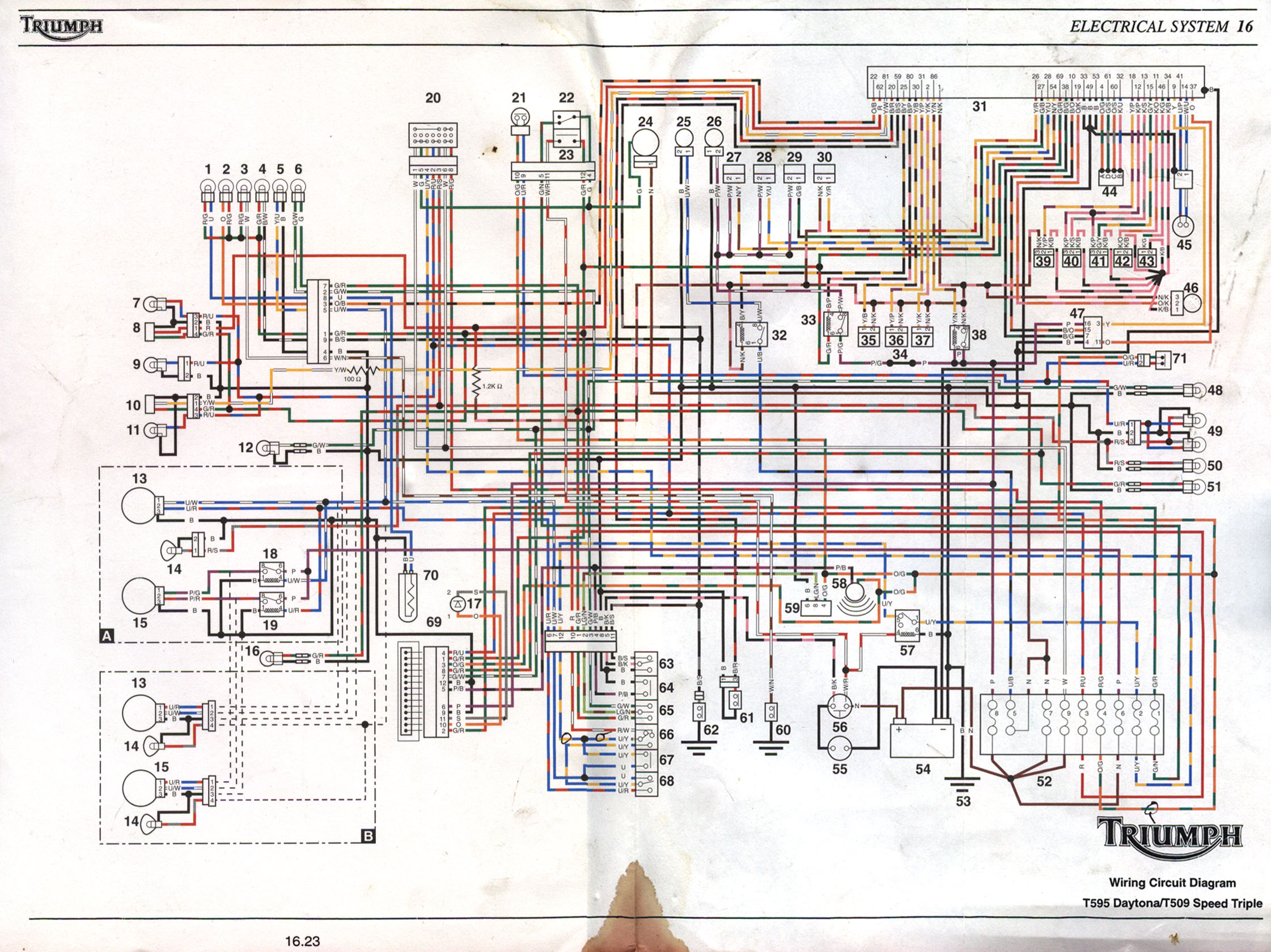 Gravely 5260 Wiring Diagram Auto Electrical International B275 Fzr 1000 Exup 28 Images