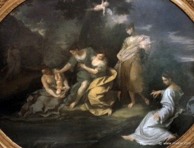 0813.jpg - 0813: Donato Creti, 1671-1749: Achille fanchiullo tuffato Nello Stige.  Pinacoteca Nazionale, Μπολόνια.