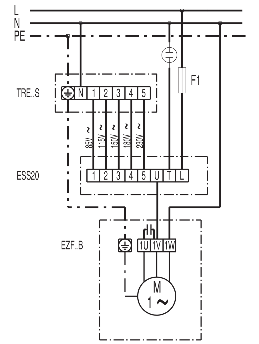 Wiring Diagram For Axial Fans