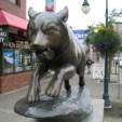 Ak Anchorage Dog Statue1