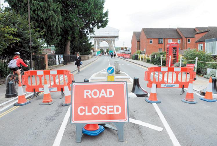 Marlow Bridge could be closed for 'up to six months'