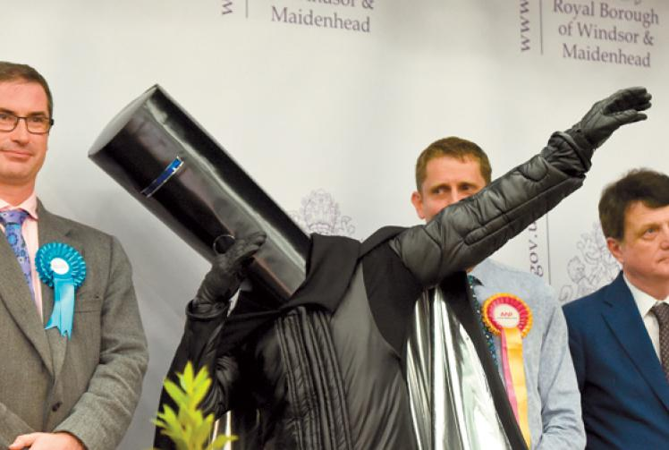 LETTER Lord Buckethead Thanks The People Of Maidenhead