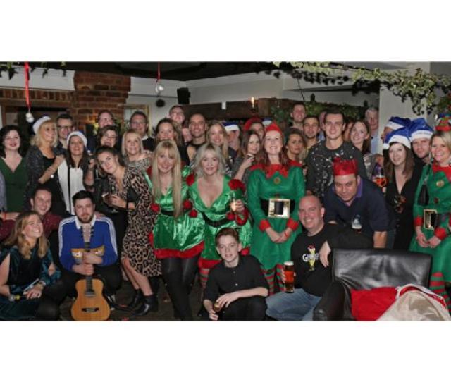 Sponsored A Jolly Christmas Raises Money For Alzheimers Charity