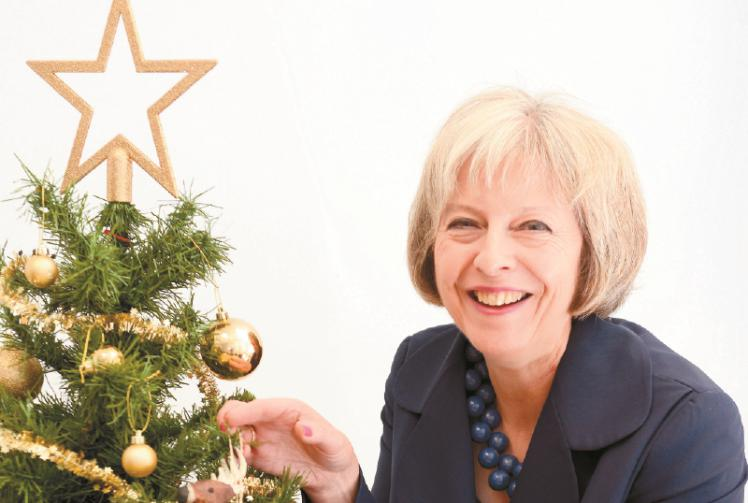 Children Asked To Design Prime Minister Theresa Mays