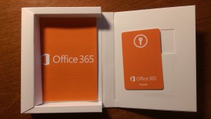 Office 365 product box