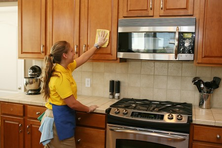 How to Clean Your Kitchen   The Maids Cleaning Hacks