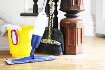 vacuuming maid service canton home