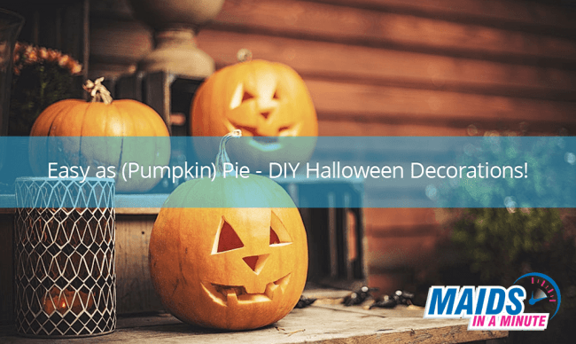 DIY halloween decorations for a spooky home