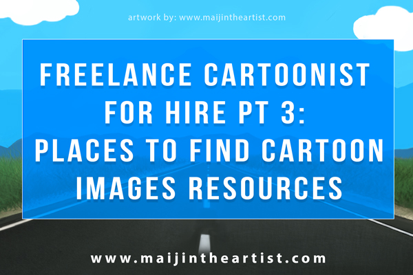 places to find cartoon image resources for illustrator