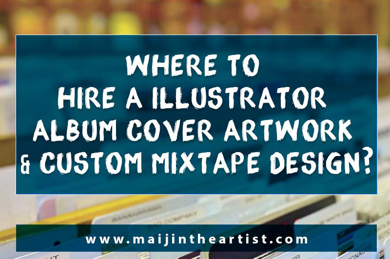 Hire-Album-Cover-Illustrator-Mixtape-Graphic Designer-Custom-Artwork