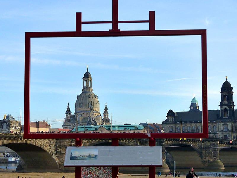 """Dresden Canalettoblick - Dresden erkunden von der Ferienwohnung Dresden Lockwitz """"Alte Kelterei"""" und Dresden Card"""