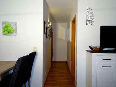 Flurbereich der Ferienwohnung mit Übergang zum Wohnbereich