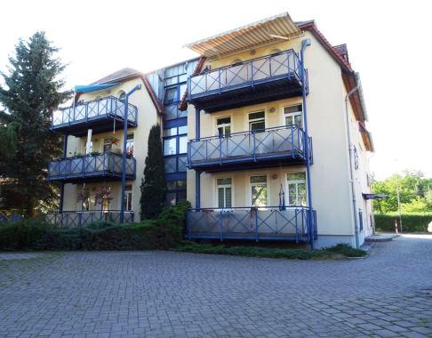 Ferienwohnung Dresden Lockwitz Hofansicht