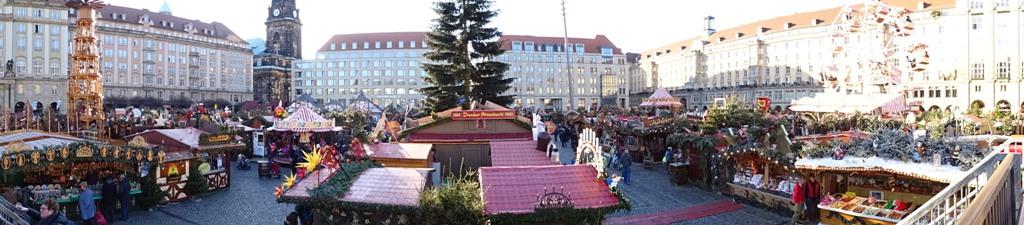 Weihnachtsmarkt Dresdner Striezelmarkt