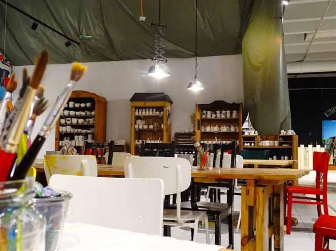 Sei kreativ in edr Keramikwerkstatt
