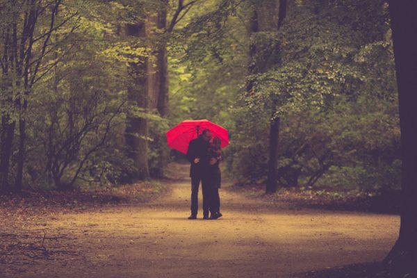 Suzanne & Christoph im Wald
