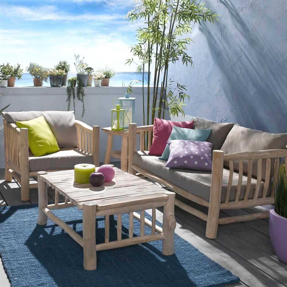 Petit Salon De Jardin Ikea Maillerayefr Jardin