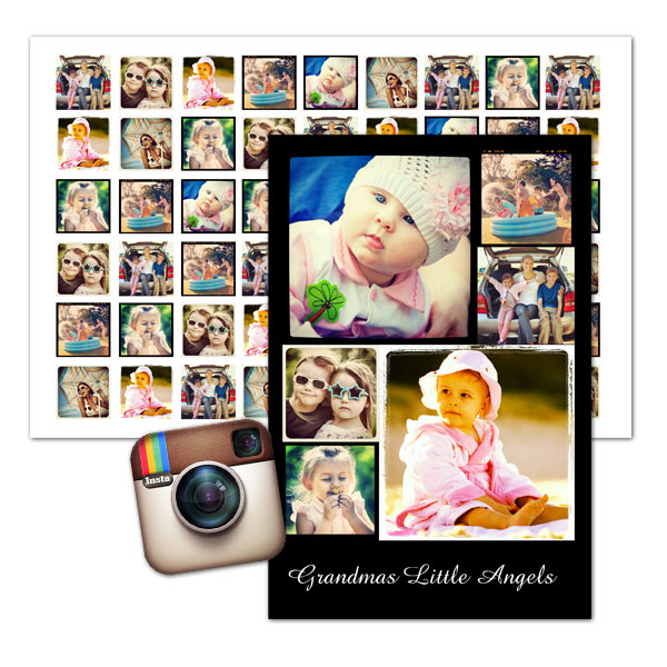 instagram collages and instagram prints