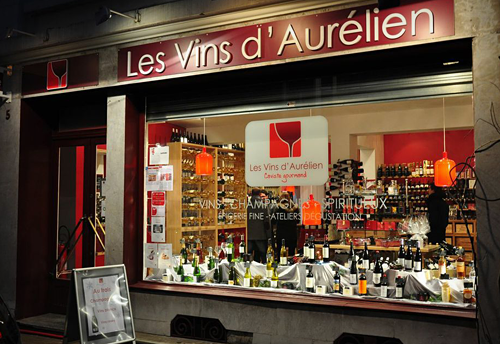 Photo of the wine store