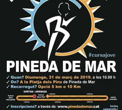 31/03/2019 Cursa Jove contra la leucemia a Pineda