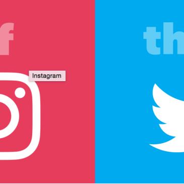 IFTTT – Instagram to Twitter
