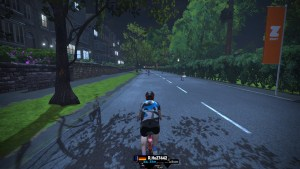 A Zwift ride in Yorkshire