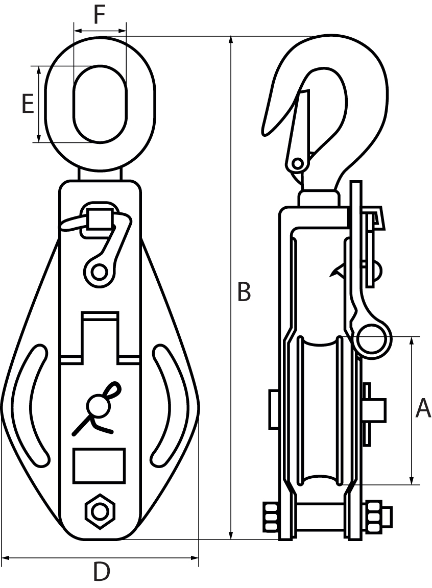Cable Pulley Sheave For 1
