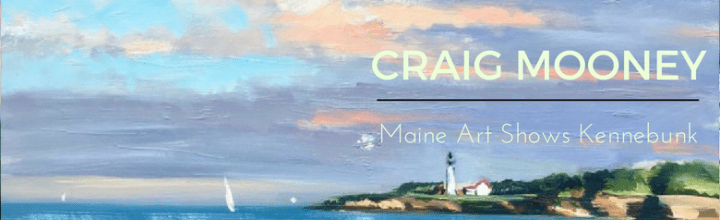 Craig Mooney Opens at Maine Art
