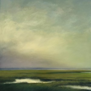 Marsh Sky II by Margaret Gerding