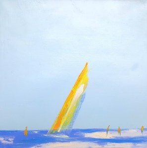 Summer Sail II by Janis Sanders