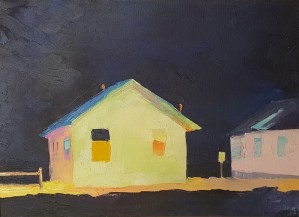 Light From a Cottage by Janis Sanders