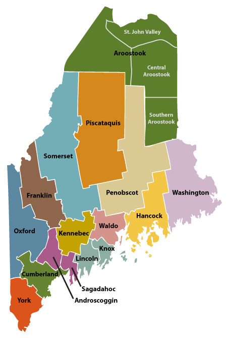 Soil & Water Conservation Districts: Maine Department of ...