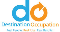 This is the logo for the Destination occupation sponsor.