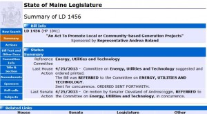 LD1456 for safe energy