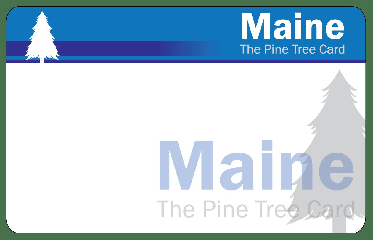 Me Ebt Pine Tree Card